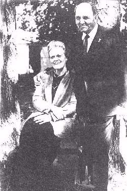 Piera with her husband