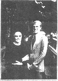 Piera with a Missionary
